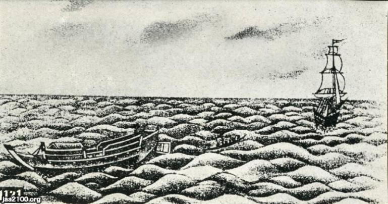 ペリー来航3年前(1850) 栄力丸の漂流事件   ジャパン ...