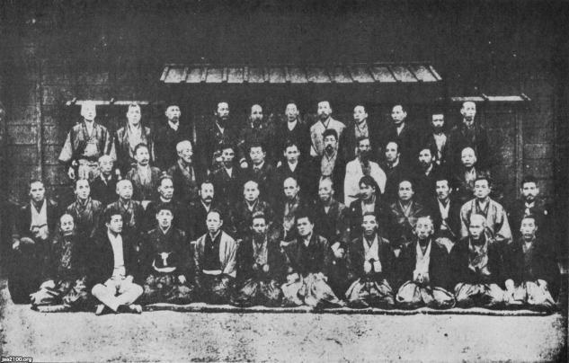 剣道(明治21年)▷警視庁の武術世話掛(明治21年頃) | ジャパン ...