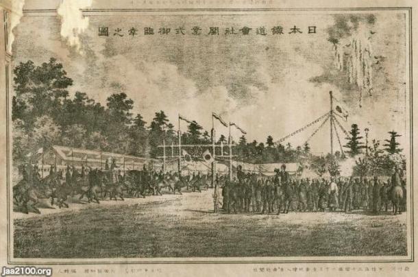民営鉄道(明治17年)▷日本鉄道(初の民営鉄道)の上野~高崎の全通 ...