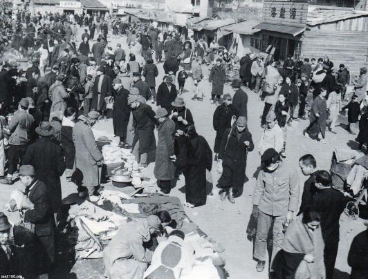 統制経済(昭和20年)▷戦後の「闇市」(ヤミ市) | ジャパンアーカイブズ - Japan Archives